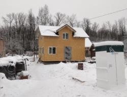 Утепление каркасного дома