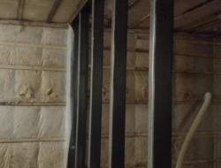 Утепление каркасного дома стена